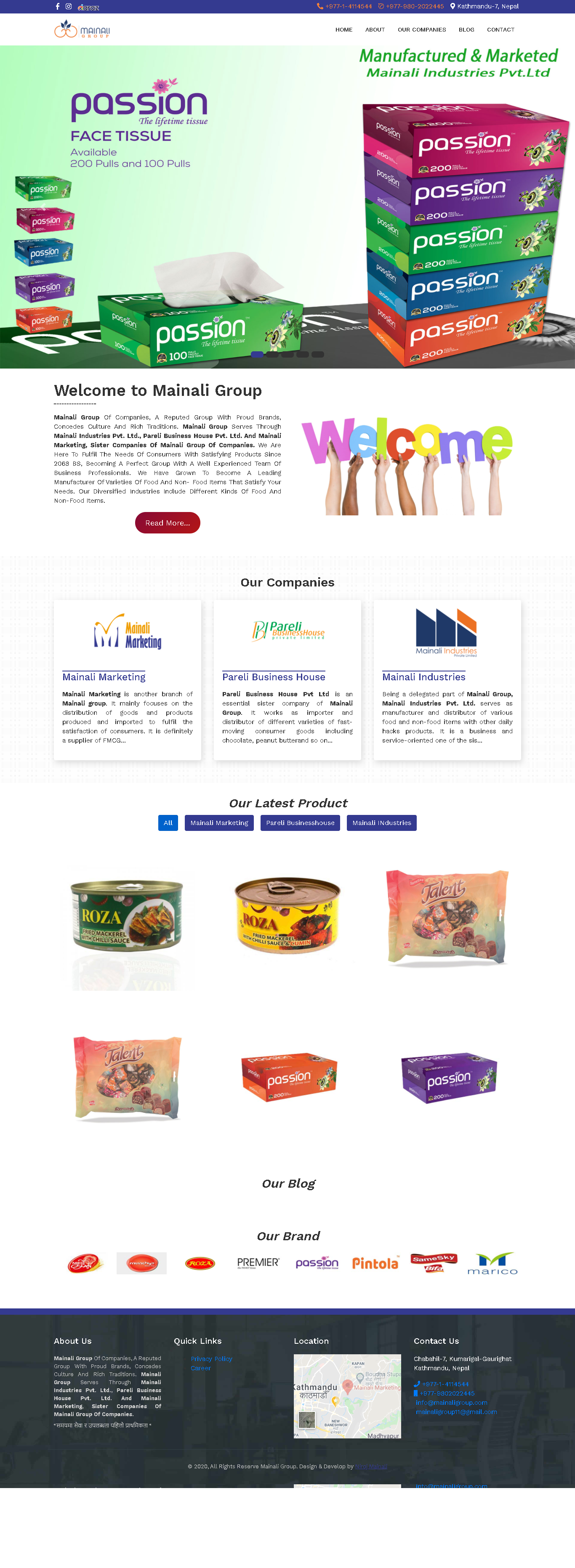 mainaligroup.com